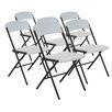 Lifetime Contemporary Essential Folding Chair (Set of 6)