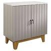 Sauder Soft Modern 2 Door Storage Cabinet