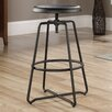 Sauder Carson Forge Adjustable Height Swivel Bar Stool