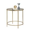 Sauder International Round Lux End Table