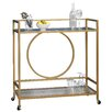 Sauder International Lux Serving Cart