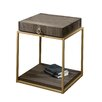 Sauder International Lux 1 Drawer  End Table