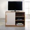 Sauder Soft Modern Walnut TV Stand
