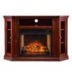 Wildon Home ® Chamberlain Corner Media Infrared Electric Fireplace