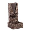 Jeco Inc Zen Tiered Pots Fountain With Led Light