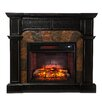 Wildon Home ® Middleton Convertible Slate Infrared Electric Fireplace