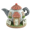 Miniature Garden Teapot House Statue - Midwest Design Imports Garden Statues and Outdoor Accents