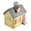 Miniature Garden Cottage House Statue - Midwest Design Imports Garden Statues and Outdoor Accents