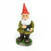 Standing Gnome with Camera Statue - Midwest Design Imports Garden Statues and Outdoor Accents