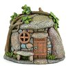Miniature Garden Troll House Statue - Midwest Design Imports Garden Statues and Outdoor Accents