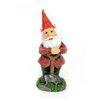 Standing Gnome with Shovel Statue - Midwest Design Imports Garden Statues and Outdoor Accents