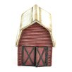 Miniature Garden Red Barn Statue - Midwest Design Imports Garden Statues and Outdoor Accents
