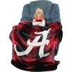 College Covers Alabama Crimson Tide Plaid Throw Blanket
