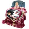 College Covers NCAA Florida State Throw Blanket