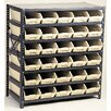 Quantum Storage Economy Shelf Storage Units with Bins