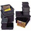 "Quantum Storage Conductive Dividable Grid Storage Containers (5"" H x 8 1/4"" W x 10 7/8"" D) (Set of 20)"