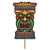 3-D Plastic Tiki Garden Sign - The Beistle Company Garden Statues and Outdoor Accents