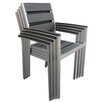 Boraam Industries Inc Fresca Stacking Dining Arm Chair (Set of 4)