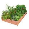 8 ft x 4 ft Redwood Raised Garden - GroGardens Planters