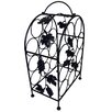 Pangaea Home and Garden Wine Storage 11 Bottle Floor Wine Rack