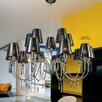 Metal Lux Opera 15 Light Crystal Chandelier