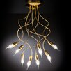 Metal Lux Free Spirit Classic 8 Light Semi-Flush Ceiling Light