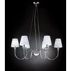 Metal Lux Opera 6 Light Chandelier