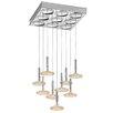 Metal Lux Capriccio 9 Light Cascade Pendant