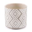 Eloise Ceramic Pot Planter - Size: 5.1 inch High x 5.5 inch Wide x 5.5 inch Deep - Union Rustic Planters