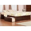 Atlantic Furniture Urban Lifestyle Concord Platform Bed with Storage