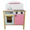 Teamson Kids Pretend Play Pink Kitchen