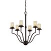 Sea Gull Lighting Trempealeau 6 Light Chandelier