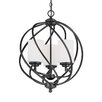 Sea Gull Lighting Goliad 3 Light Foyer Pendant