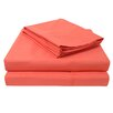 Simple Luxury 3000 Windowpane Embossed Microfiber Sheet Set