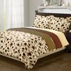 Simple Luxury Impressions 1800 Elm Leaves Duvet Collection