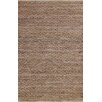 Simple Luxury Superior Hand-Woven Brown Area Rug