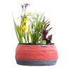 Deco Fabric Pot Planter - Color: Red - Water Creations Planters