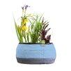 Deco Fabric Pot Planter - Color: Blue - Water Creations Planters