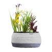 Deco Fabric Pot Planter - Color: Gray - Water Creations Planters
