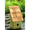 Fruit Coops 11 inch x 6 inch x 5 inch Birdhouse - Color: Green Apple - Heartwood Birdhouses