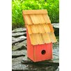 Fruit Coops 11 inch x 6 inch x 5 inch Birdhouse - Color: Mango - Heartwood Birdhouses