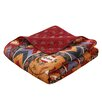 Greenland Home Fashions Farrah Cotton Quilted Throw