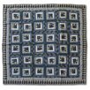 Patch Magic Blue Log Cabin Quilt