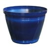 Bellwood Round Resin Pot Planter - Color: Blue - Breakwater Bay Planters