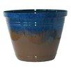 Bellwood Indoor/Outdoor Resin Pot Planter - Color: Blue - Breakwater Bay Planters