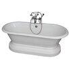 "Barclay 67"" x 31"" Soaking Bathtub Kit"