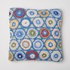 Amity Home Coin Hooked Wool Throw Pillow