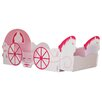Kidsaw Princess Carriage Convertible Toddler Bed