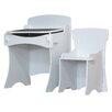 Kidsaw 2-tlg. Schreibtisch und Stuhl-Set Stuff4Kids