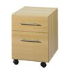 Bush Europe Sun 2-Drawer Mobile Vertical Filing Cabinet